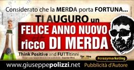 giuseppe polizzi Felice ANNO NUOVO Happy new year crazy marketing genius  2016