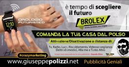 giuseppe Polizzi crazymarketing Orologio WiFi pubblicità geniali