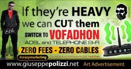 giuseppe polizzi pubblicità WE CAN CUT THEM crazy marketing genius  2016 inglese
