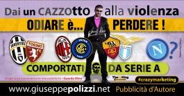 giuseppe polizzi pubblicità 2016 crazy marketing calcio club 2016
