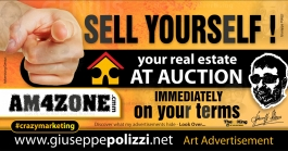 giuseppe polizzi crazy marketing Sell Yourself advertisement genius  2017