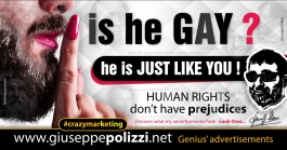giuseppe polizzi advertisement GAY crazy marketing genius  2017