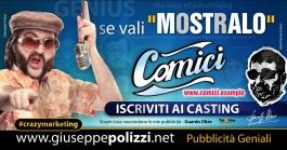 giuseppe Polizzi pubblicita MOSTRALO crazymarketing genius