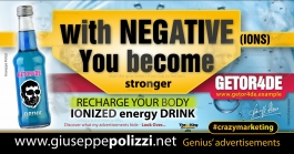 giuseppe Polizzi  With NEGATIVE you BECOME  crazymarketing genius ing