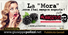 giuseppe Polizzi La Mora  crazymarketing pubblicita geniali