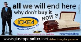 giuseppe polizzi pubblicità 2016 crazy marketing pompe funebri inglese