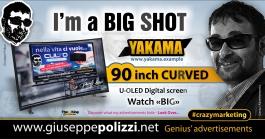 giuseppe polizzi crazymarketing I'm a BIG SHOT genius  2018 advertising