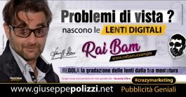 giuseppe Polizzi crazymarketing Lenti Digitali pubblicità geniali