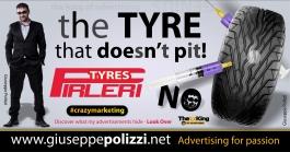 giuseppe polizzi pubblicità 2016 crazy marketing gomme tyres inglese