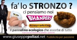 giuseppe polizzi pubblicità 2016 crazy marketing pannolino diaper