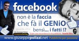 giuseppe polizzi pubblicità 2016 crazy marketing facebook genius