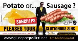 giuseppe polizzi pubblicità 2016 crazy marketing patatine 2016 inglese