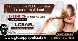 Giuseppe Polizzi crazymarketing PELO di Fibra pubblicità geniali