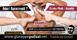 Giuseppe Polizzi crazymarketing Odori Sgradevoli  pubblicità geniali