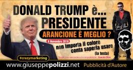 giuseppe polizzi pubblicità donald trump crazy marketing  2016