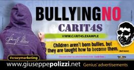 giuseppe Polizzi Bullying no crazymarketing pubblicita geniali