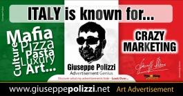 giuseppe polizzi pubblicità ITALY crazy marketing genius  2016 inglese