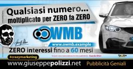 giuseppe Polizzi Qualsiasi numero per ZERO crazymarketing genius