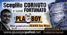 giuseppe polizzi pubblicità scegli CORNUTO crazy marketing genius