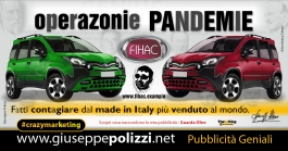 giuseppe polizzi pubblicità Operazione PandeMie crazyMarketing  2020