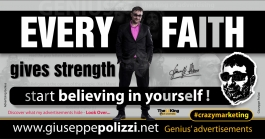 giuseppe polizzi aphorisms  Every Faith 2017 crazymarketing