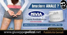 Giuseppe Polizzi crazymarketing Bruciore Anale pubblicità geniali