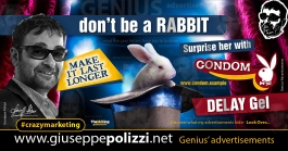 giuseppe polizzi crazymarketing Rabbit advertisements