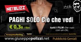 giuseppe Polizzi crazymarketing Paghi solo ciò che vedi  pubblicità geniali