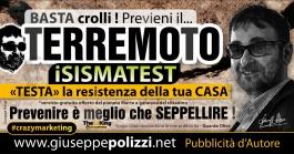 giuseppe polizzi pubblicità terremoto crazy marketing  2016