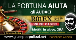 giuseppe Polizzi pubblicita  - LA FORTUNA crazymarketing genius