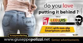 giuseppe polizzi advertisement love putting it behind Crazy Marketing  2021