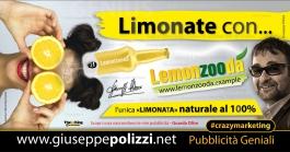 giuseppe Polizzi Limonate con crazymarketing pubblicita geniali