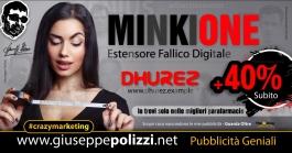 giuseppe Polizzi crazymarketing MinkiOne pubblicità geniali