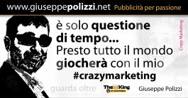 giuseppe polizzi crazy marketing aforismi aphorism genio genius 2016 crazymarketing