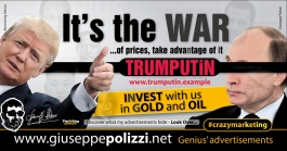 giuseppe polizzi advertisement IT'S WAR crazymarketing genius  2017