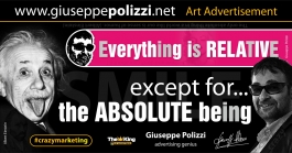 giuseppe polizzi aforismi everything is Relative  2016 crazy marketing genio inglese