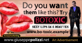 giuseppe polizzi  BOTOXIC crazy marketing genius  2017 ing
