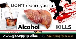 giuseppe polizzi pubblicità 2016 crazy marketing organi organs alcool inglese