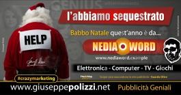 giuseppe Polizzi crazymarketing Natale pubblicità geniali